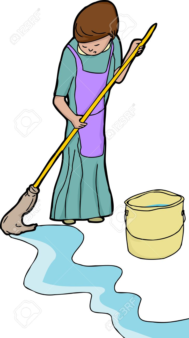 5,003 Mopping Stock Illustrations, Cliparts And Royalty Free.