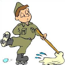 Free Mop Clipart.