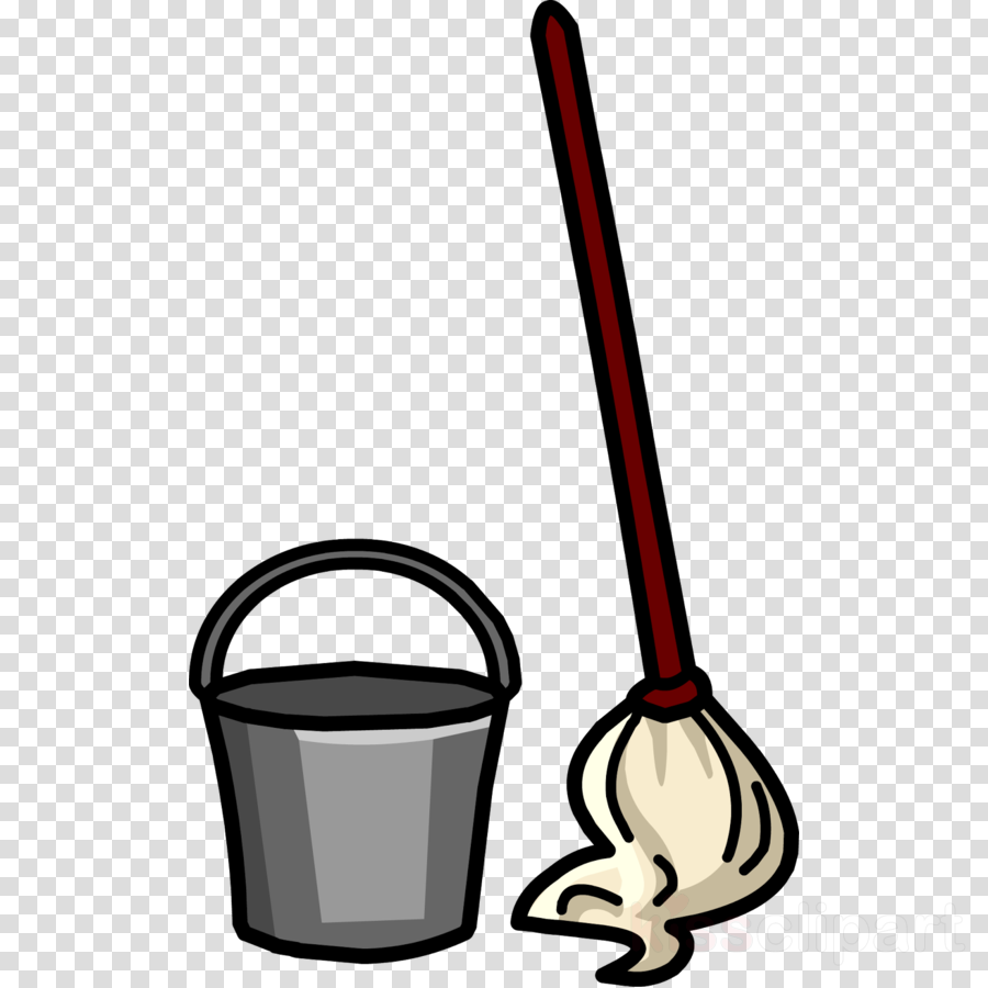 Download mop and bucket clip art clipart Mop bucket cart.