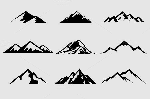 mountains clipart Mountain clip art #13.