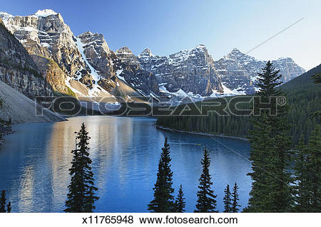 Pictures of Moraine Lake, Valley of Ten Peaks x11765948.