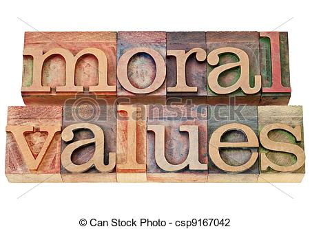 Moral education clipart.