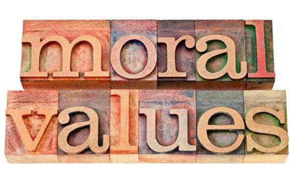 moral values for children clipart.