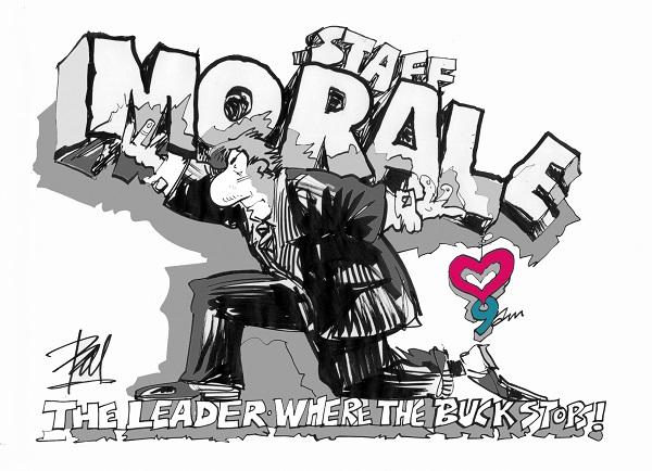 Staff Morale.