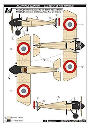 Amazon.com: Special Hobby WWI Morane Saulnier Type.