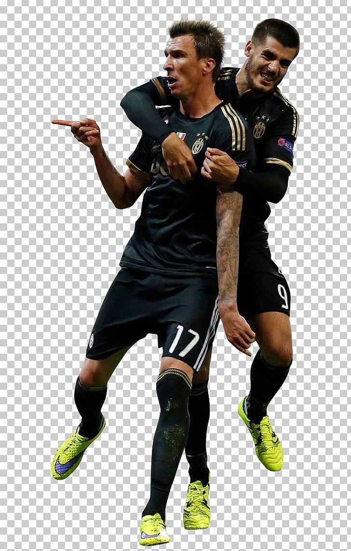 Mario Mandžukić Álvaro Morata Juventus F.C. Serie A Jersey.