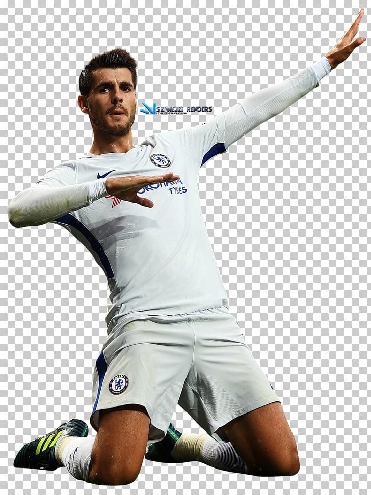Álvaro Morata Soccer player Chelsea F.C. Football player Art.
