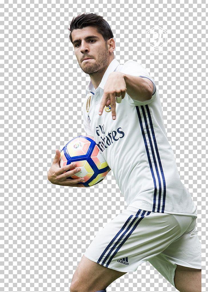 Álvaro Morata Real Madrid C.F. Jersey UEFA Champions League.