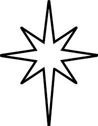 Free clipart moravian star.