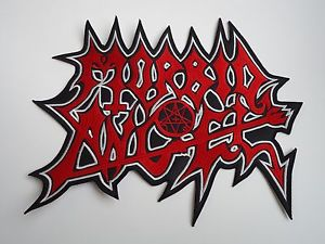 Details about MORBID ANGEL LOGO DEATH METAL EMBROIDERED BACK PATCH.