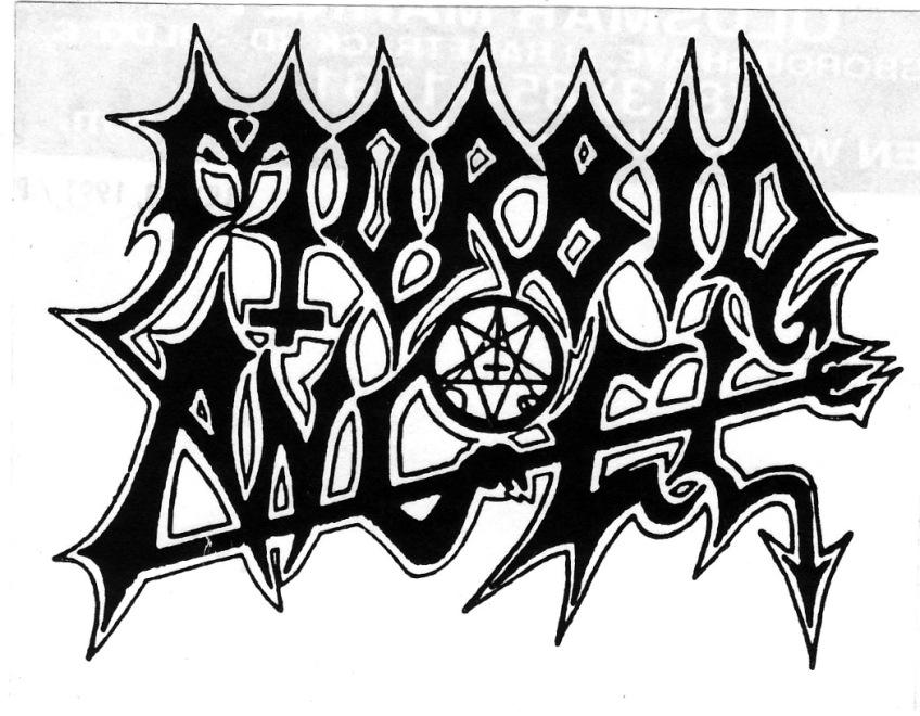 Morbid Angel logo.