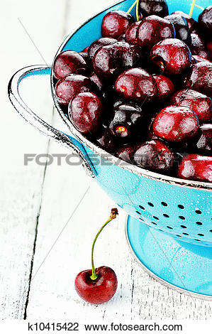 Stock Photo of Morello Cherries k10415422.