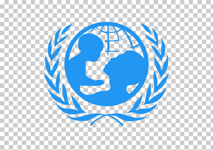 UNICEF Port Moresby, Papua New Guinea Organization Logo.