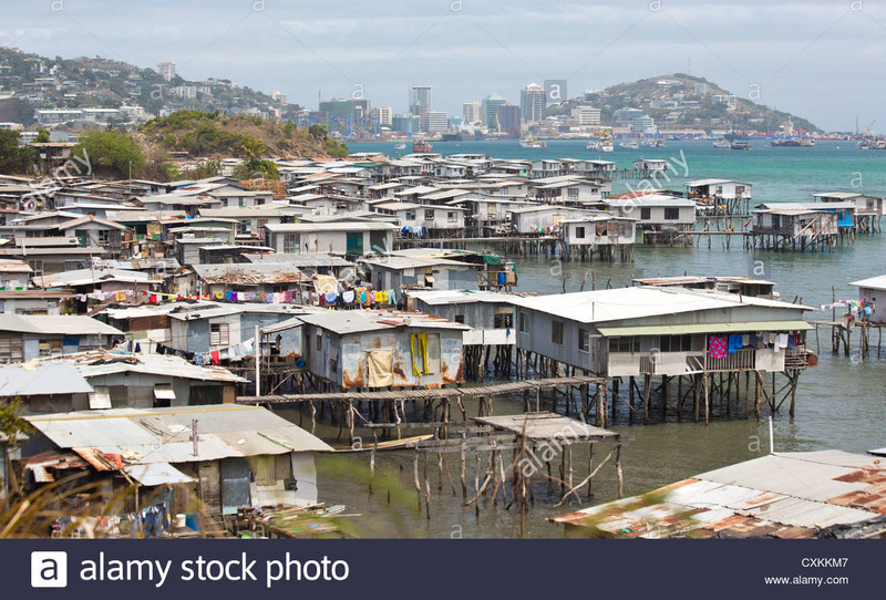 Port Moresby, PNG Rated the most dangerous city in the world.