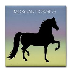 Morgan horse clipart.