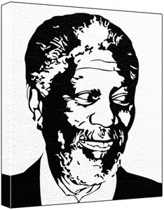 Morgan freeman clipart.