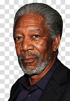 Morgan Freeman, Morgan Freeman Face transparent background.