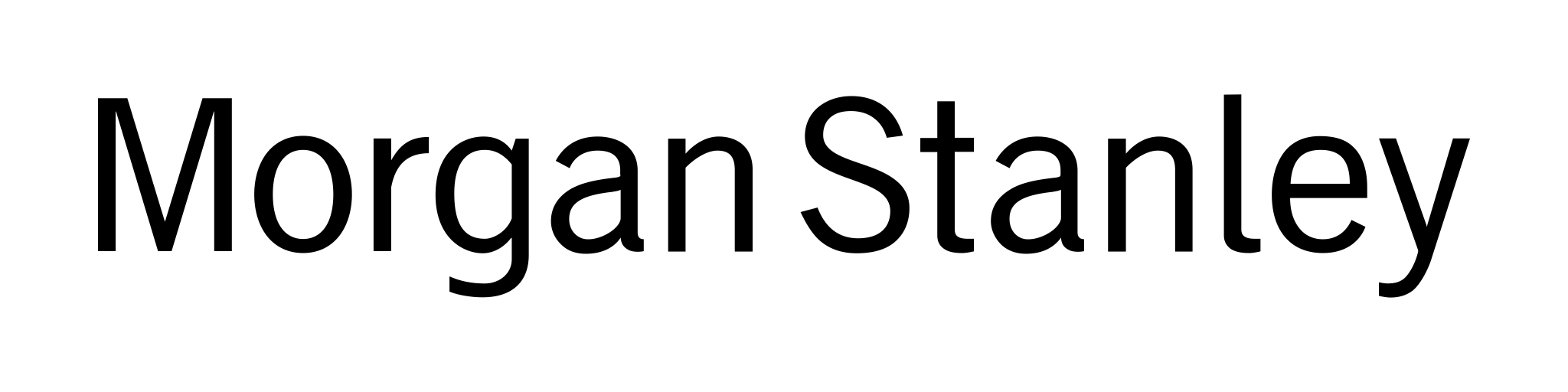 Morgan Stanley Logo transparent PNG.