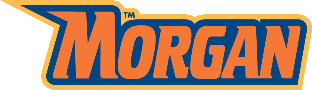 Morgan State Bears Wordmark Logo.