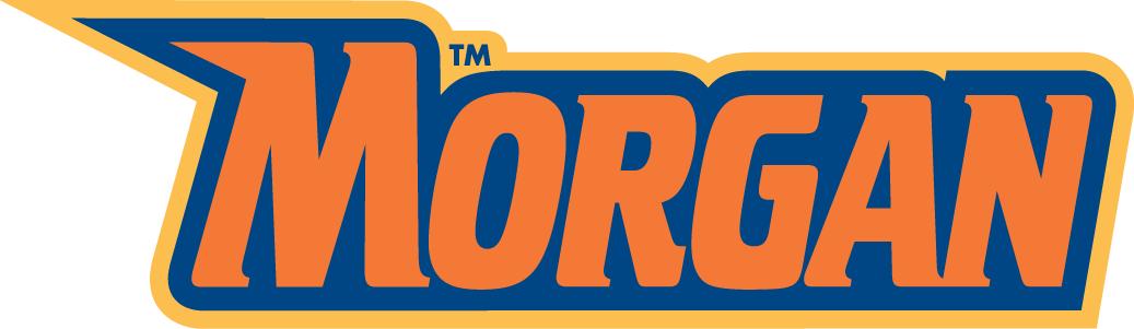 Morgan State Bears Wordmark Logo.