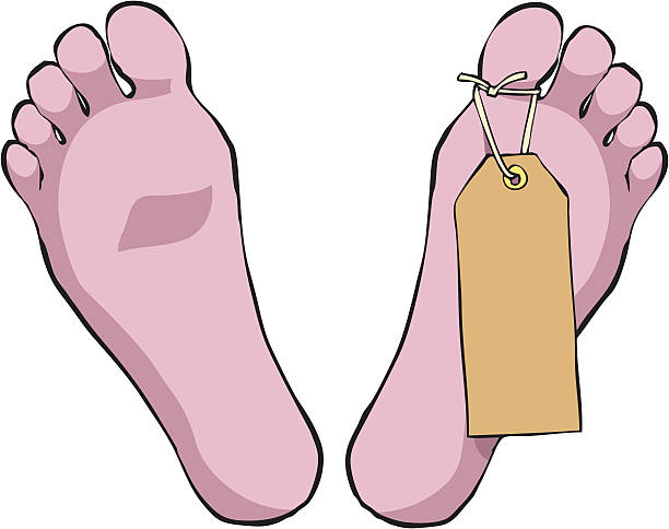 Cartoon Of The Dead Bodies In The Morgue Clip Art, Vector Images.
