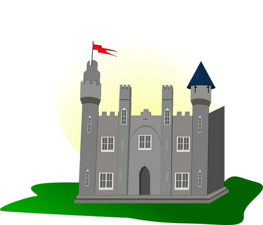 Free vector graphic: Castle, Flag, Tower, Medieval.