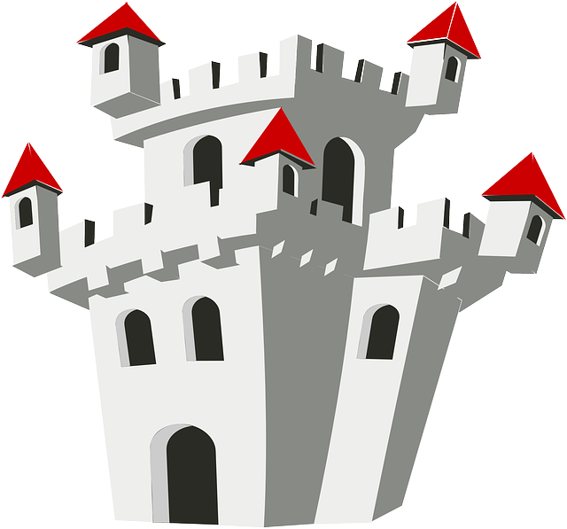 Free vector graphic: Castle, Palace, Chateau, Fortress.