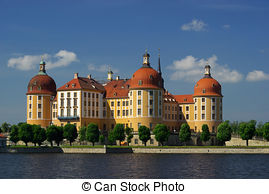 Stock Photo of Moritzburg.