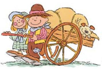Pioneer handcart clipart 1 » Clipart Station.