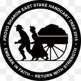 Mormon Handcart Pioneers PNG and Mormon Handcart Pioneers.