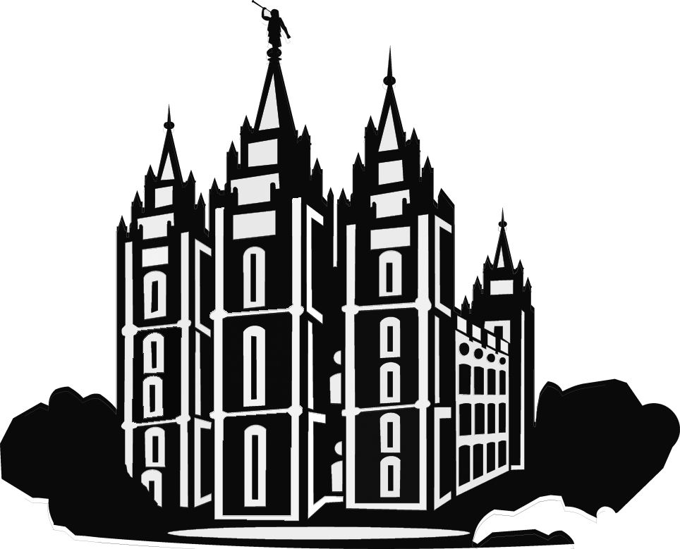 Lds Temple Clipart.