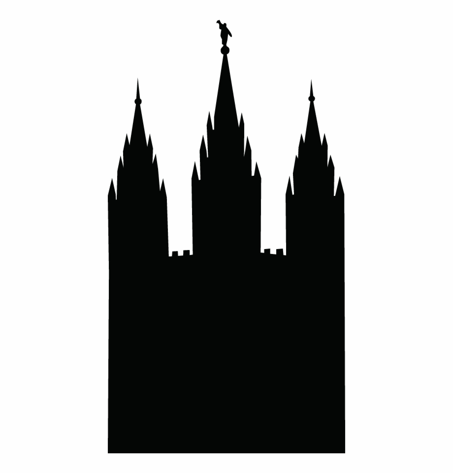 Free Lds Temple Silhouette, Download Free Clip Art, Free.