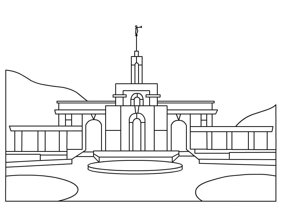 LDS Temple Clip Art : My CTR Ring.