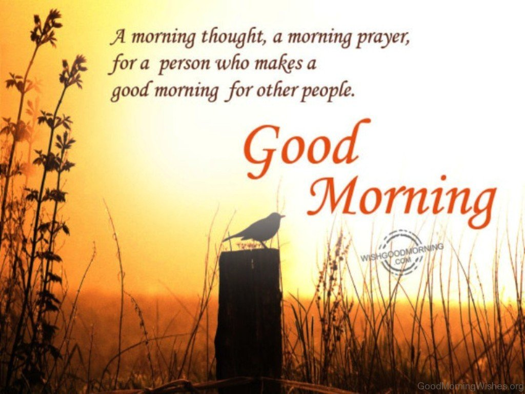 17 Good Morning Wishes With Prayer.