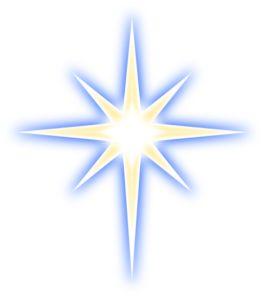 Morning star clipart.