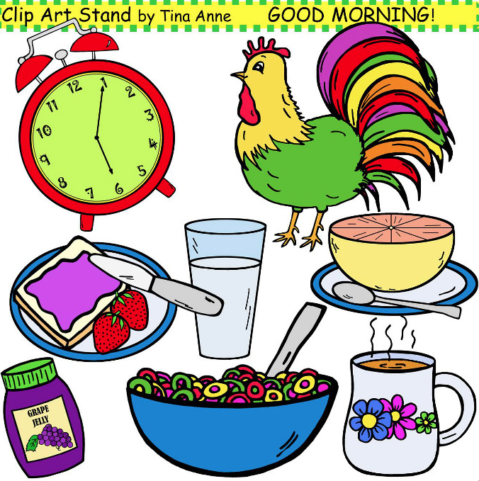 Good Morning Clipart.