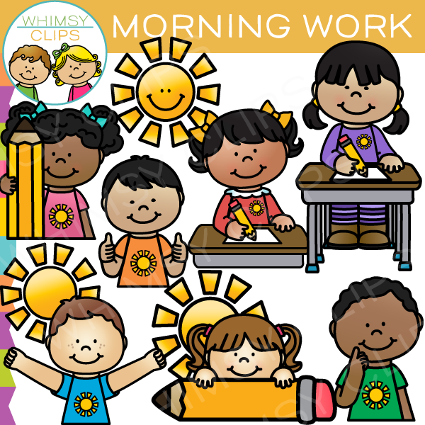 Morning Work Clipart Free.