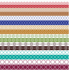 Colorful Moroccan Border Patterns Vector Images (over 730).