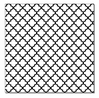 Moroccan Pattern Clipart.