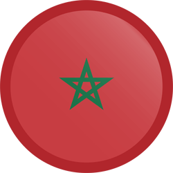 Morocco flag clipart.