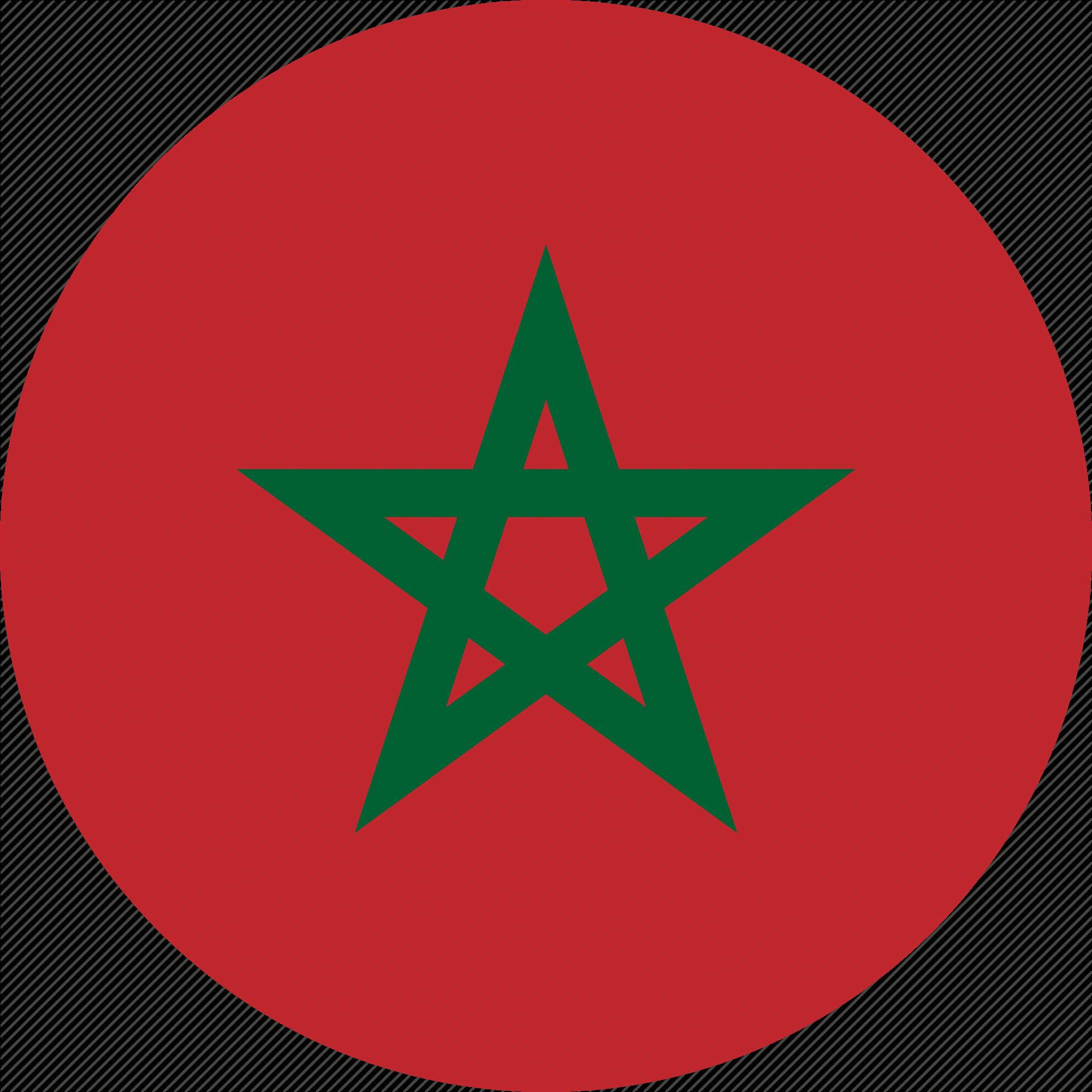 Morocco Flag PNG.
