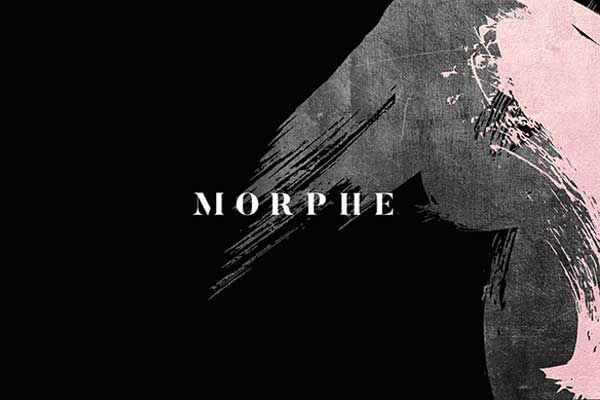 Morphe Logo Brush Stroke in 2019.