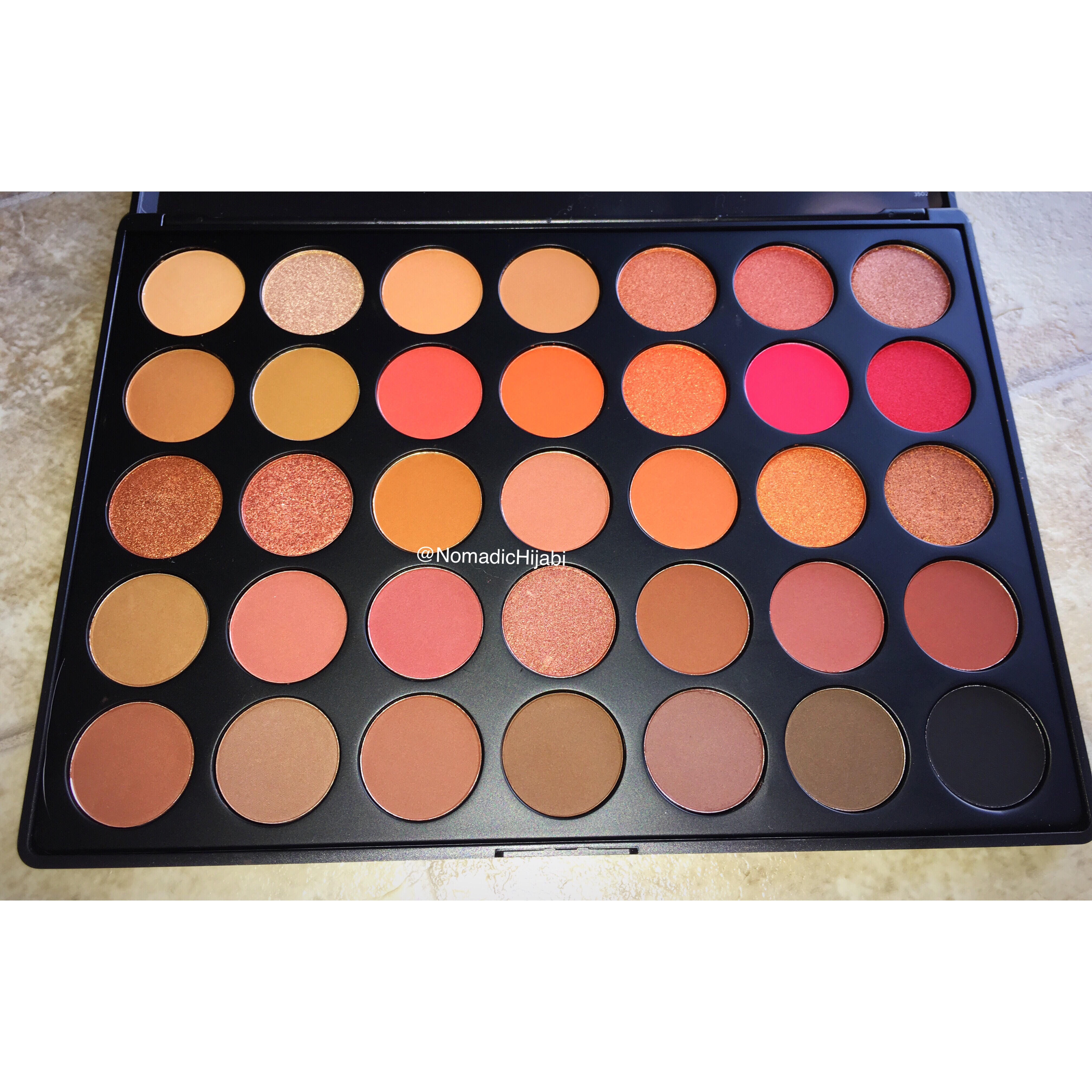 Morphe 3502 Palette Review and Swatches.