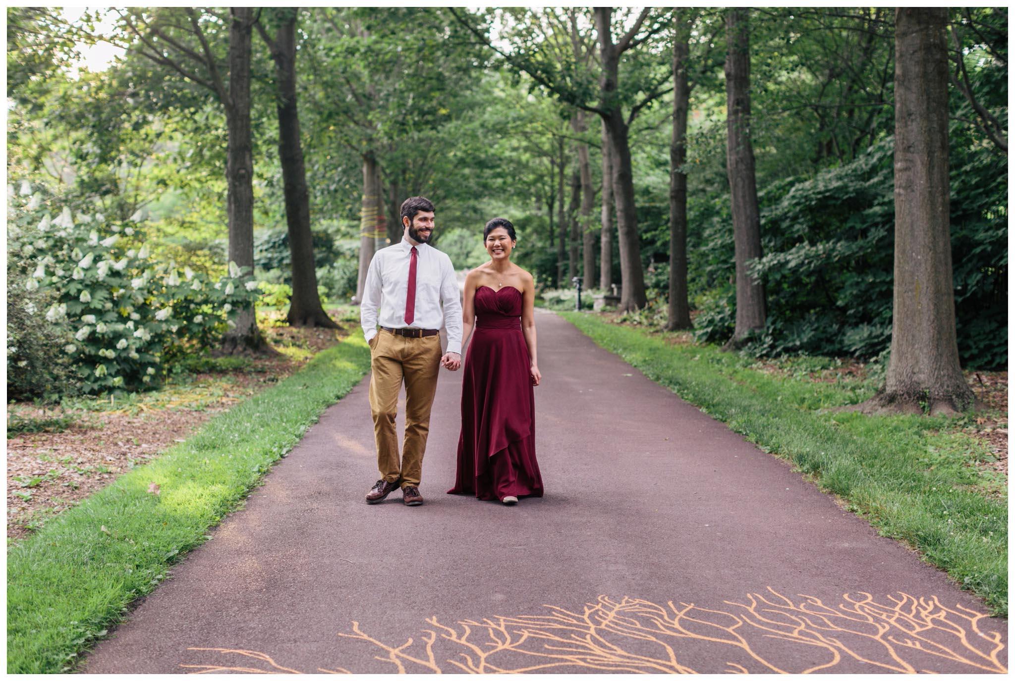 Morris Arboretum Wedding Photographer.