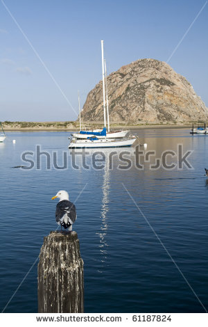 Morro Bay California Stock Photos, Royalty.