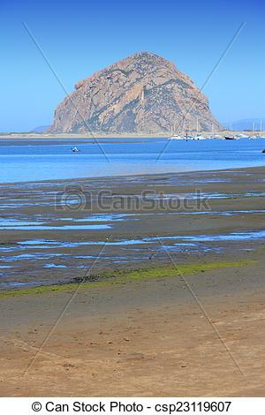Stock Photography of Morro Bay, California.