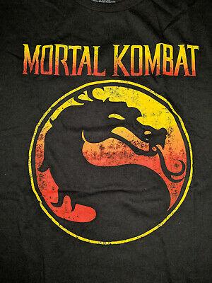 Mortal Kombat Logo Retro Tee Shirt! Brand NEW Licensed. Scorpion, Sub Zero  3XL.