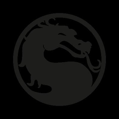 Mortal Kombat vector logo free.