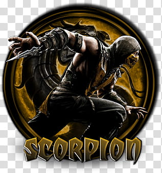 Scorpion MKX, Mortal Kombat Scorpion illustration.