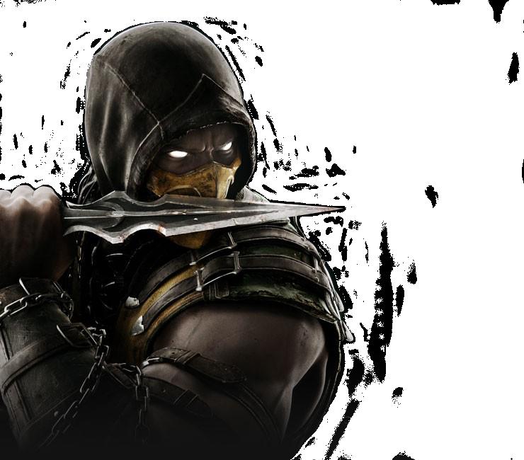 scorpion mortal kombat x render clipart Mortal Kombat X.